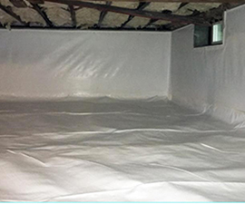 Crawl Space Vapor Barrier Services in MA and RI